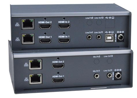 XTENDEX® ST-IPUSB4K-VWDH (Local & Remote Unit)