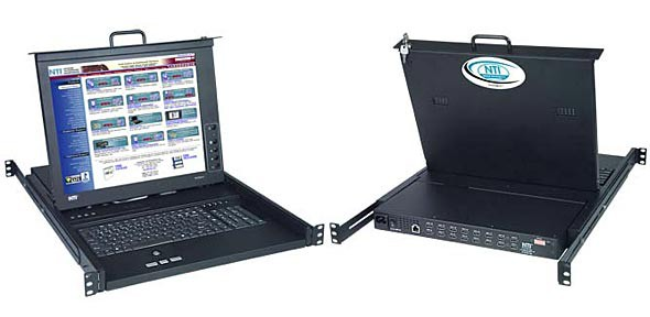 RACKMUX-DS17-NT-16DVIHD (Front and Back)