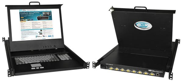 Hi-Res VGA USB + PS/2 KVM Drawer