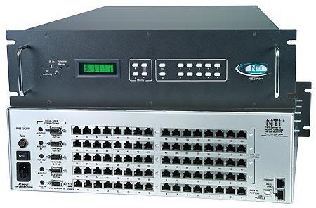 VEEMUX® SM-16X64-C5AV-1000 (Front & Back)