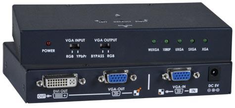 VGA-DVI (Front & Back)