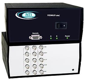 SE-5C-2-TTL (Front & Back) Workstation Video Switch