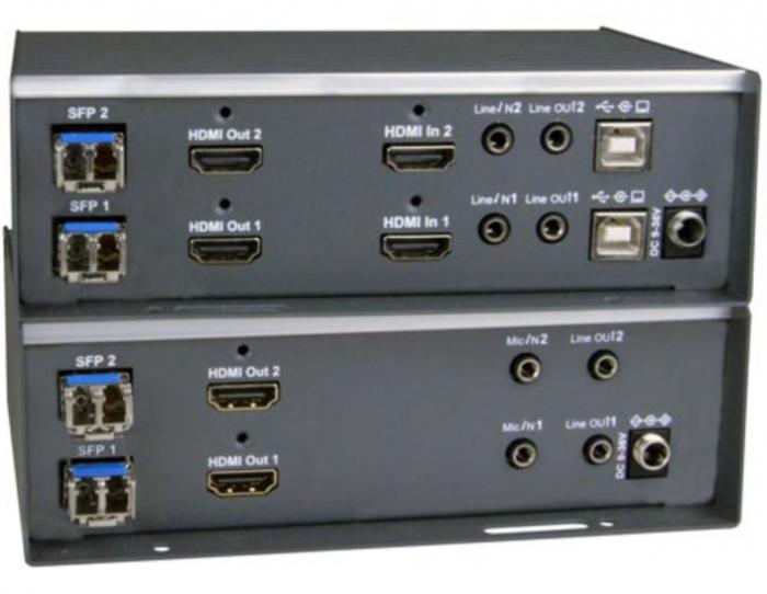 XTENDEX® ST-IPFOUSB4K-LCDH-V2 (Local & Remote Units)